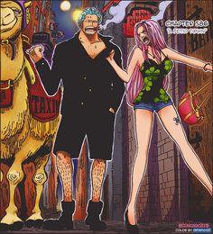 One Piece, Smoker, Hina