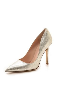 larisa metallic pumps / kate spade