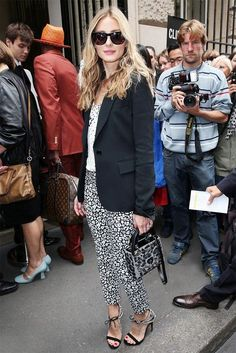 The 14 Best Celebrity Looks From Couture Week - Celebrity Street Style
