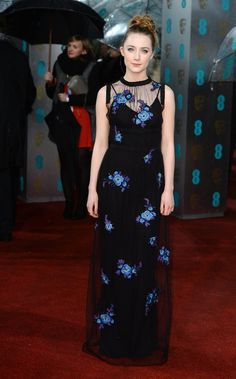 Saoirse Ronan   2013 BAFTA Awards - Red Carpet