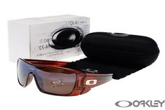 oakley batwolf sunglasses clear brown