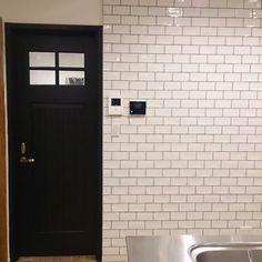 ニューヨーク/カフェ/男前インテリア/マイホーム/タイル/ドアサイン…などのインテリア実例 - 2014-09-06 00:34:10 | RoomClip(ルームクリップ)