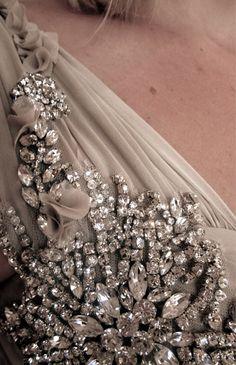 Gorgeous dress detail embellishment.