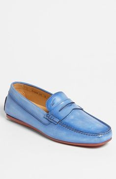 Santoni 'Tanton' Driving Shoe available at #Nordstrom