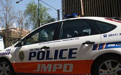 Two Johannesburg Metro Police Officers have been suspended and are facing criminal charges after they were captured on video allegedly taking a bribe from two men In the video'