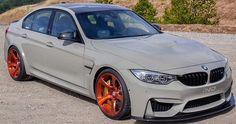 IND BMW M3 HRE wheels