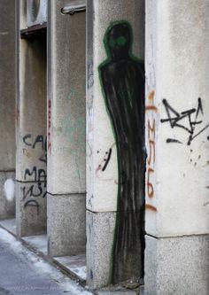 Beogradski grafiti.: Senka #Beograd #Belgrade #Graffiti #Grafiti #StreetArt