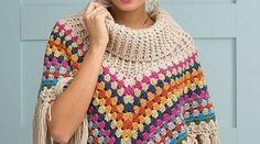 16 Easy Crochet Poncho Patterns for Women
