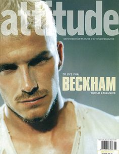 """""""David Beckham was amazing – the first time a heterosexual footballer – and the captain of the England, team no less – had appeared on the cover of a gay magazine. He is an icon of modern masculinity and so it was a real moment, a signal to the country that it was OK to be OK with gay people...""""  2002"""