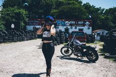 Motorcycle babe #harley #motorcycle photo by The KOCO