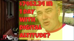 Learn how you can earn like me here: http://budurl.com/da7know Do you know what I love most about the Digital Altitude business? It's the freedom. Freedom to spend my day however I want.