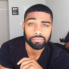 eyes are stunning and the lips. Men In Black, Gorgeous Black Men, Cute Black Guys, Just Beautiful Men, Handsome Black Men, Beautiful Men Faces, Handsome Faces, Cute Guys, Mens Facial