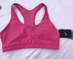 bcc520c5f9 NWT Nike DEDICATION Racerback Sports Bra Pink Sz M Dri-fit Stay Cool Pink   Nike  SportsBrasBraTops