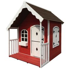 Wooden Kids Playset Outdoor Cubby House - Cottage Style shopping, Buy Cubby Houses online at MyDeal for best deals, coupons, bargains, sales