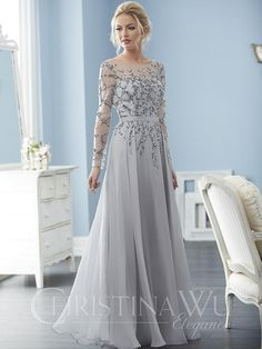 Mother Of The Bride Dresses Long, Mother Of Bride Outfits, Mismatched Bridesmaid Dresses, Wedding Dresses, Party Dresses, Mature Women Fashion, Christina Wu, Casual Chique, Mob Dresses