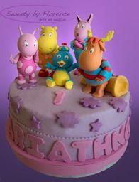Tortas decoradas Backyardigans