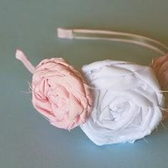 Who wants to make Rose frayed accessories?  These headbands are awesome for Spring and Summer! How about dressing up a fuzzy head warmer for winter and fall!