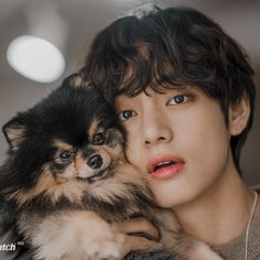 ☁️ — ➪ taehyung with yeontan icons ➪ like or reblog if...