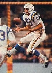 """Lance Alworth  I'm a sports junky and I love all the easy access we have now, but......There was a mystery about the """"other"""" league, the teams you only saw post-season (baseball) and then the teams you never saw if there wasn't a team in your city from an outlaw league like the AFL, ABA, or WHA.  We did see some AFL by the mid 60's, and Alworth was a phenomenal receiver."""
