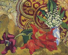 Tulips and Lilies of the Valley, 1912. Louis Valtat.