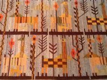 Hand Woven Cepelia Wool Rug