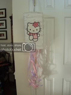 Fancy Frugally: How to make a pull-string pinata from scratch Mermaid Pinata, Gender Reveal Pinata, Hello Kitty Themes, Fourth Birthday, Unicorn Party, Baby Love, To My Daughter, Party Planning, Bridal Shower
