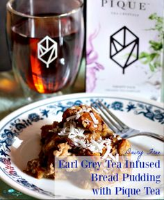 Earl Grey Bread Pudd