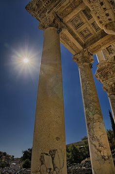 Ruins of Ephesus, Izmir, Turkey