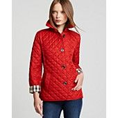 Burberry Brit Copford Quilted Jacket... I do need a new coat this fall ; )