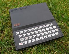Sinclair ZX81.Piece of shit buttons wore out so fast. Still...