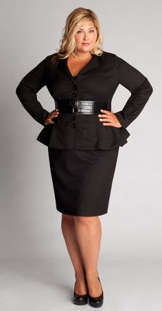 Black career wear can be fashionable and powerful.