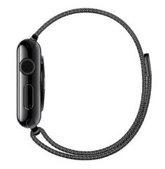 Buy Apple Watch 42mm Stainless Steel Case - Space Black Milanese Loop Band USED for 349.99 USD | Reusell
