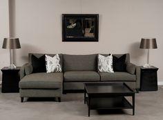 Stiletto Modular. Available as a sofa bed. Custom made in Sydney, Australia. www.sofastudio.com.au