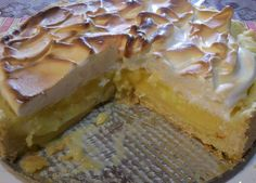 Tarta de merengue y limón dukan