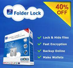 Folder Lock At An Amazing 40% Discount