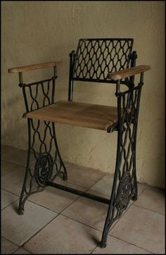 Reuse old treadle sewing machine