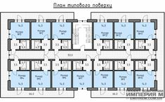 План номеров типового этажа мини-гостиницы/отеля Аскольд на 31 номер Guest House Plans, Bedroom House Plans, Plano Hotel, Apartment Floor Plans, Small Apartment Plans, Bathroom Layout Plans, Hotel Design Architecture, Building Design Plan, Hotel Bedroom Design
