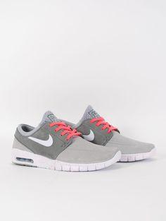 Nike SB Stefan Janoski Max L Suede Wolf Grey - Rollin