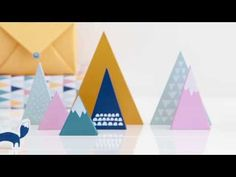 "See the kikki.K Mountains Collection Come to Life. Excellent use of stop motion animation - see how the slogan ""escape to the mountains"" sets the tone of the ad?"