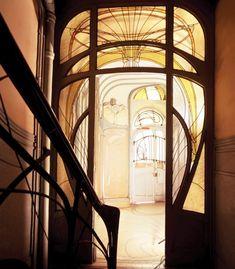 Art Nouveau style, Maison Coilliot, Lille - France  1898  by  Hector Guimard,  Architect
