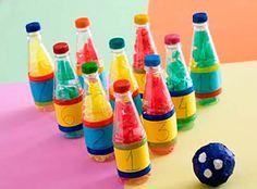 boliche con botellas de plastico - Buscar con Google