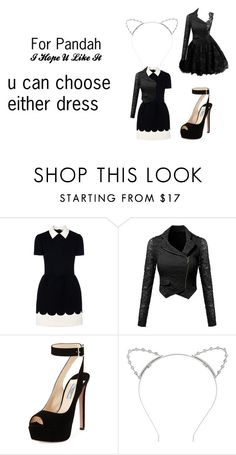 """Pandah"" by dawnlions on Polyvore featuring RED Valentino, Prada and Lipsy"