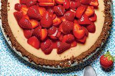 Chilled Summer Pies: Strawberry-Lemon-Buttermilk Icebox Pie