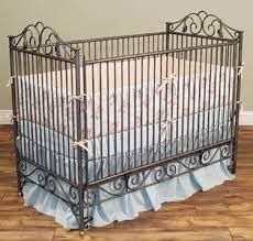 Image result for vintage wrought iron crib drawings