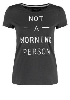 Even&Odd T-Shirt print - anthracite - Zalando.de