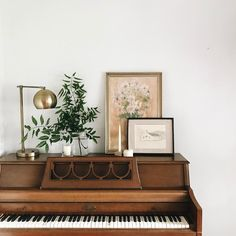 top of the piano vignette.