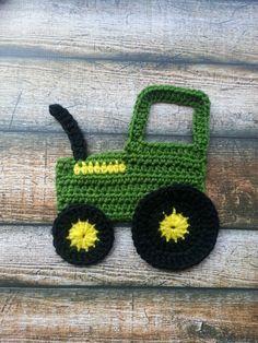 Tractor Applique John Deere Pattern Beginner Easy by maggie3891, $1.99