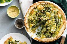 Spring Green Homity Pie   Pie Recipes   Tesco Real Food