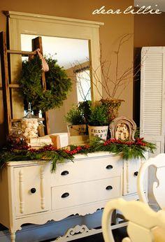 kerstdressoir