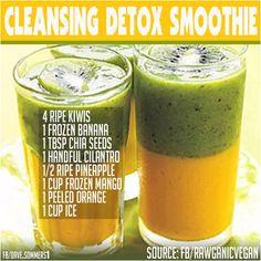 Detox smoothie